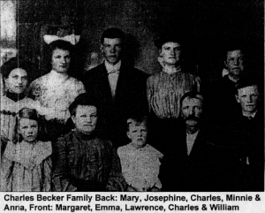 Charles Becker and family